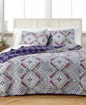 Image of Barcelona Reversible 3-Pc. Full/Queen Quilt Set
