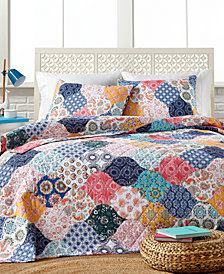 Wonderland 3-Pc. Full/Queen Quilt Set