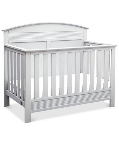 Borman 4-in-1 Convertible Crib, Quick Ship