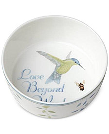 Lenox Butterfly Meadow Everyday Celebrations Love Beyond Words Bowl
