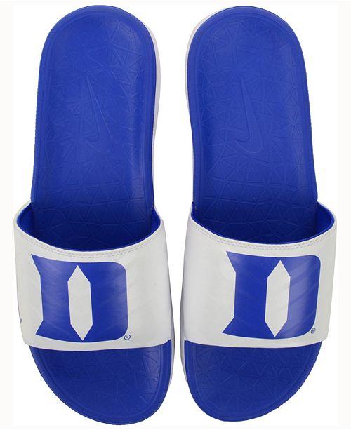 5f62d95d8c4d Nike Duke Blue Devils Benassi Solarsoft Slides   Reviews - Sports ...