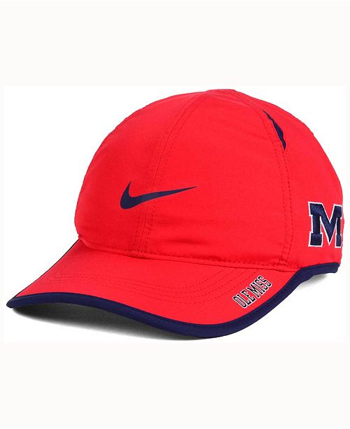brand new f8ff9 33018 Nike Ole Miss Rebels Featherlight Cap ...