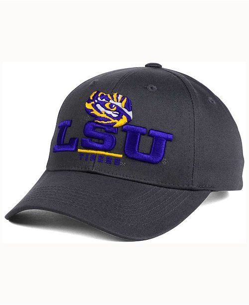 Top of the World LSU Tigers Charcoal Teamwork Snapback Cap