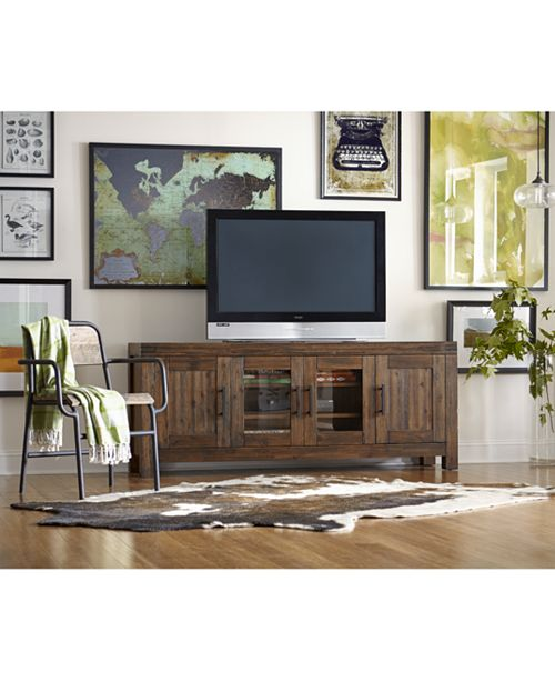 Furniture Avondale Media 72 Tv Stand Created For Macy S Reviews