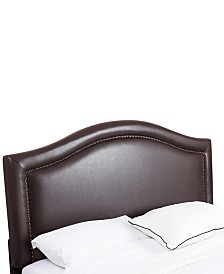 Joana King/California King Nailhead Trim Headboard, Quick Ship