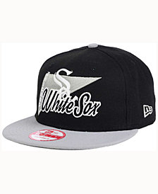New Era Chicago White Sox Logo Stacker 9FIFTY Snapback Cap