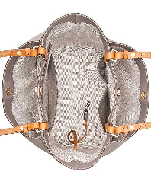 f213ecaad Dooney & Bourke City Flynn Smooth Leather Tote & Reviews - Handbags ...