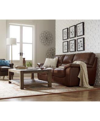 bolivar leather sofa collection, created for macy's - furniture