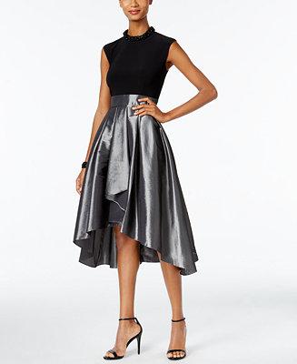 Sl Fashions Embellished High Low Cocktail Dress Dresses