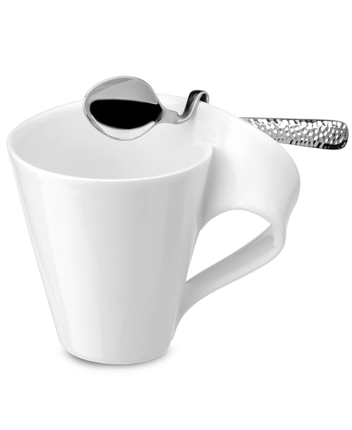 "Villeroy & Boch - ""New Wave Caffé"" Coffee Spoon, Silver"