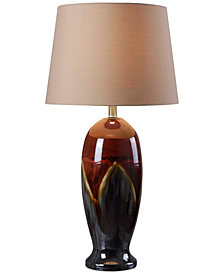 Kenroy Home Lava Table Lamp