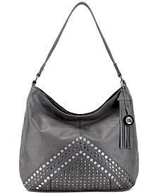 The Sak Indio Studded Leather Hobo