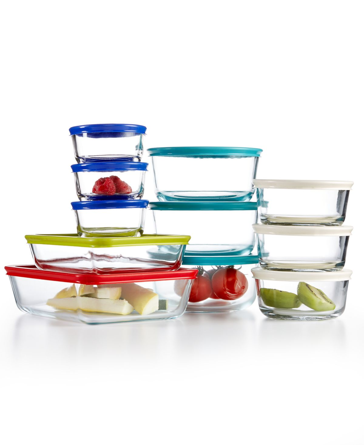 Pyrex 22-Pc. Food Storage Container Set - $24.99 at Macy's online deal