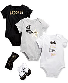 First Impressions Glitter & Bows Bundle, Baby Girls, Created for Macy's
