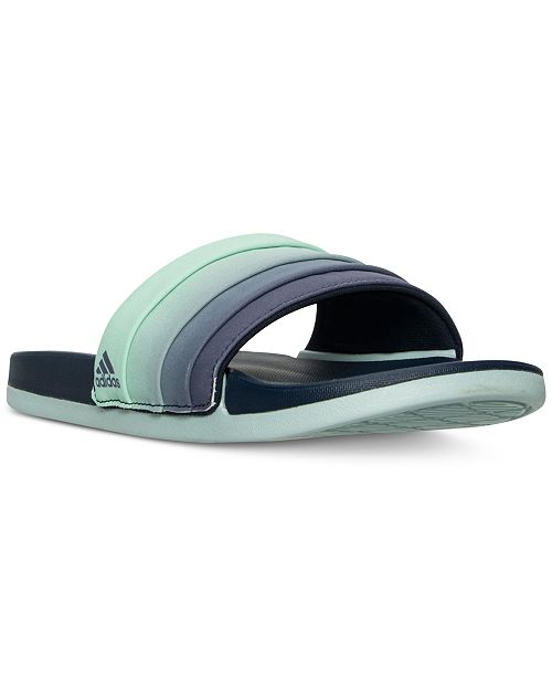 premium selection 30cf9 98007 adidas Womens Adilette Cloud Foam + Armad Slide Sandals from