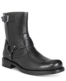 Unlisted by Kenneth Cole Men's Slightly Off Plain-Toe Moto Boots