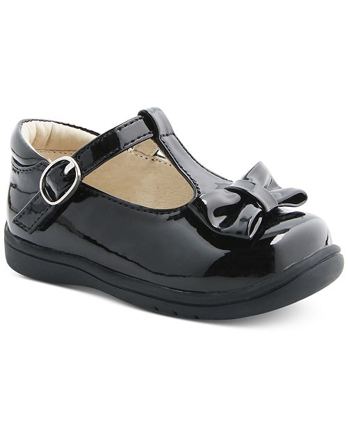 7905e00668bd7 Mobility By Cruz T-Strap Bow Shoes, Baby & Toddler Girls