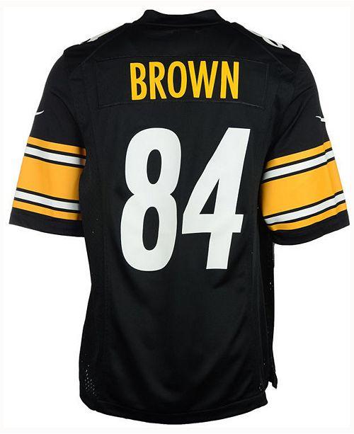 Nike NFL  Antonio Brown Game Jersey, Little Boys (4-7)