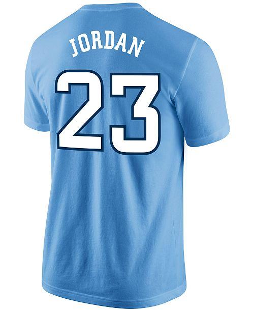 497e2ae9c632 ... Nike Men s Michael Jordan North Carolina Tar Heels Future Star Replica T -Shirt ...