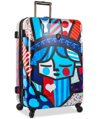 "Britto Freedom 30"" Expandable Hardside Spinner Suitcase"