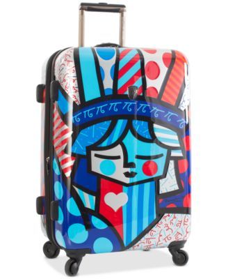 "Britto Freedom 26"" Expandable Hardside Spinner Suitcase"