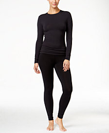 Cuddl Duds Softwear Stretch Long Sleeve  Crew & Softwear Stretch Leggings