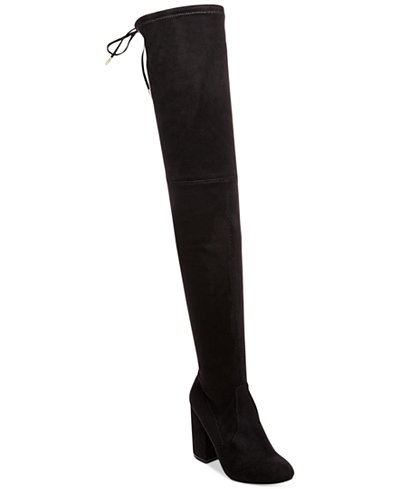 womens black over the knee boots