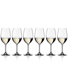 Riedel Vinum Riesling/Zinfandel Wine Glasses 6 Piece Value Set