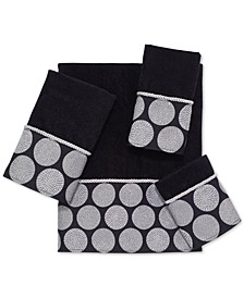 Dotted Circles Hand Towel