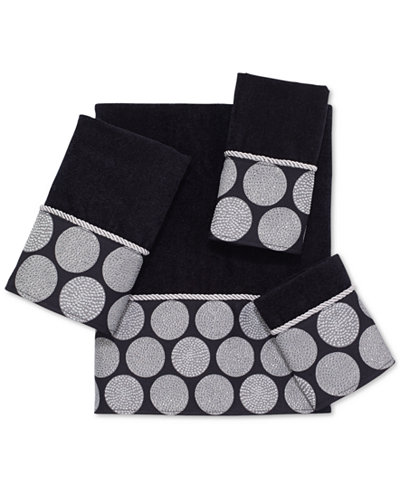Avanti Dotted Circles Towel Collection