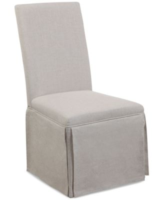 Skirted Parsons Chair, Quick Ship