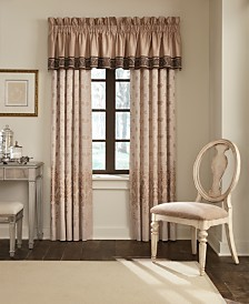"""CLOSEOUT! Waterford Astor 18"""" x 55"""" Tailored Window Valance"""