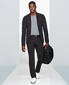 Kenneth Cole Men's Zip-Trim Blazer, Henley & Slim-Fit Pants