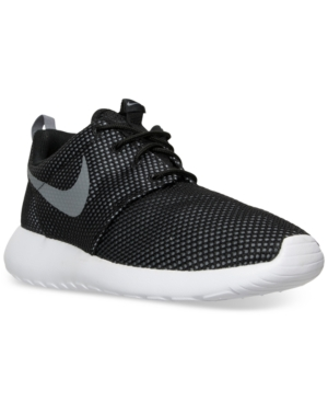 Nike Men S Roshe One Casual Sneakers From Finish Line In Cool Grey Cool  Grey- 855d4bca853c