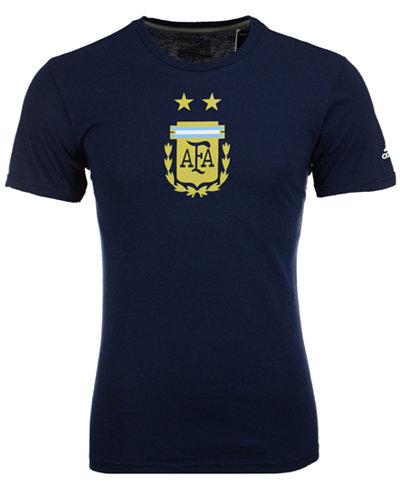 adidas Men's Argentina National Team Crest Performance T-Shirt