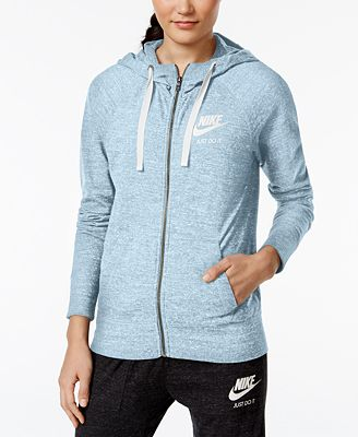 Nike Gym Vintage Full-Zip Hoodie - Women - Macy's