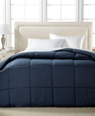 royal luxe lightweight microfiber color down alternative king comforter polyester fiberfill