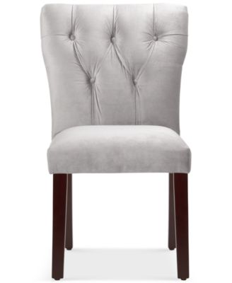 Furniture Jolinda Tufted Hourglass Dining Chair, Quick Ship   Furniture    Macyu0027s