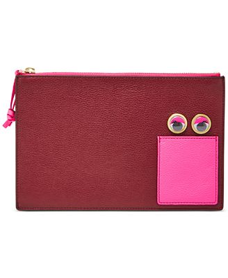 Fossil Large Eyes Pouch