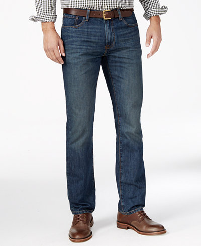 Tommy Hilfiger Men's Big & Tall Straight-Leg Jeans