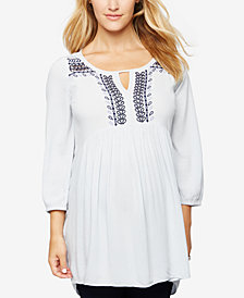 A Pea In The Pod Maternity Embellished Tunic