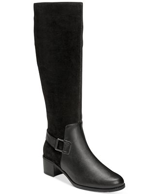 Aerosoles After Hours Adjustable-Calf Tall Boots