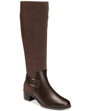Aerosoles After Hours Adjustable-Calf Tall Boots Women