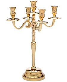 Revere Lighting Large Metal Candelabra