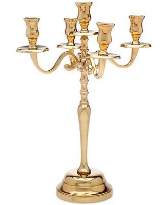 Godinger Lighting by Design Large Metal Candelabra