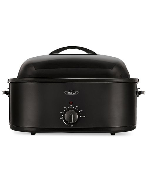 bella 14581 24 lb electric turkey roaster small appliances