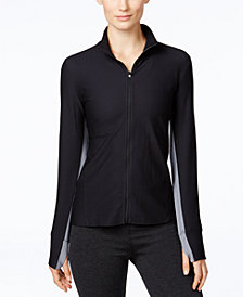 Calvin Klein Performance Honeycomb Zip-Front Jacket