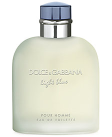 DOLCE&GABBANA Men's Light Blue Pour Homme Eau de Toilette Spray, 6.7 oz.