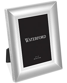 "Waterford Lismore Diamond Silver 5"" x 7"" Frame"