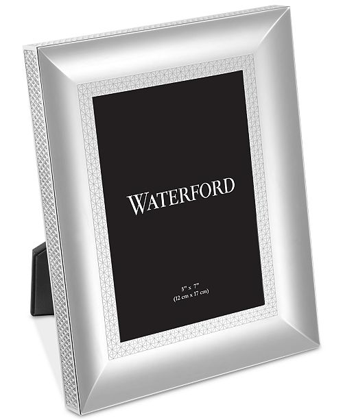 Waterford Lismore Diamond Silver 5 X 7 Frame Picture Frames Macys